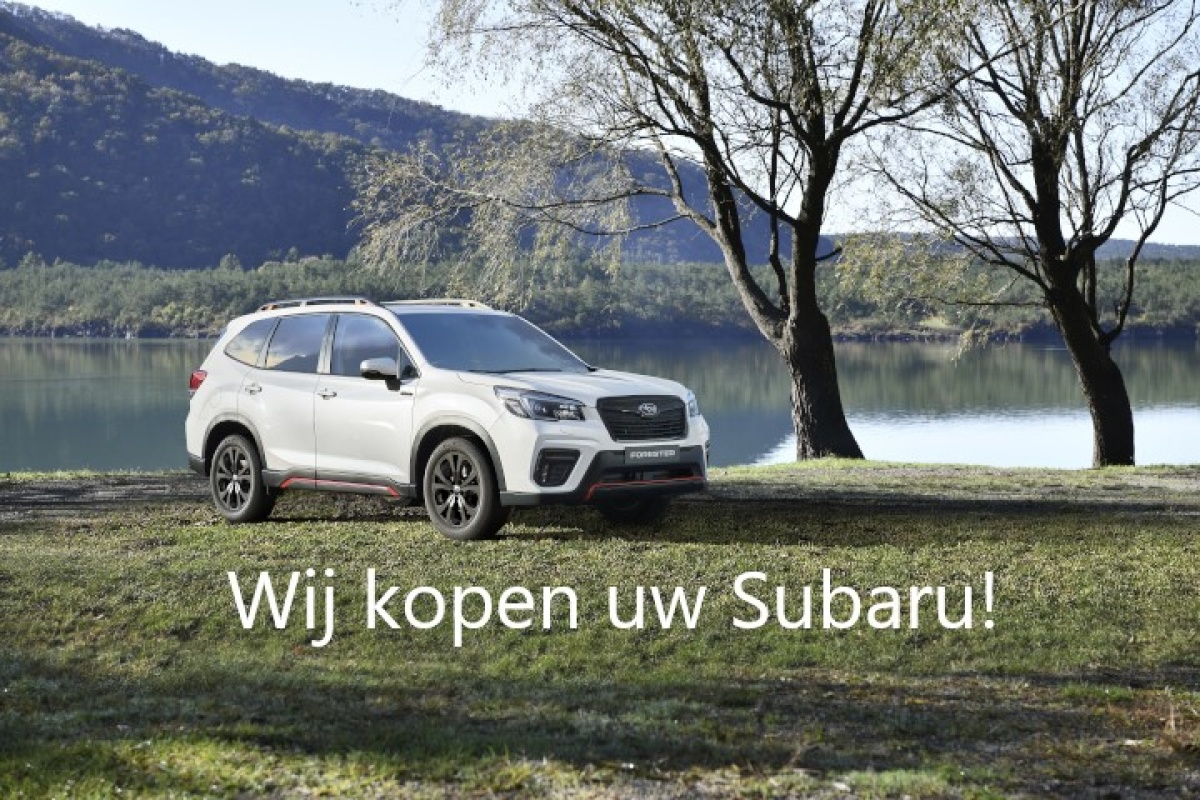 Wij kopen uw Subaru!