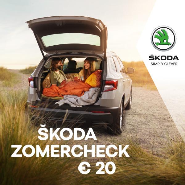 Zomercheck Skoda 2020