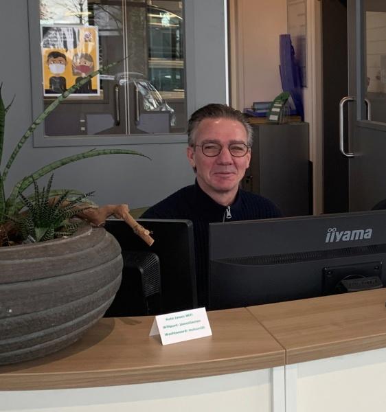 Onze nieuwe serviceadviseur, Patrick van Laar